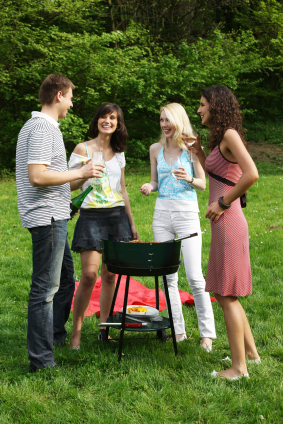 BBQ Wine Party